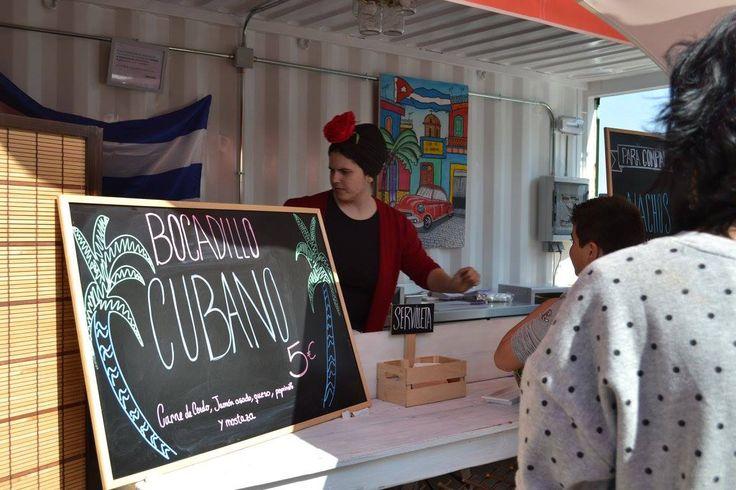 Cuban Sandwiches stall at Rin Ran Market - El Palmar, Murcia, Spain