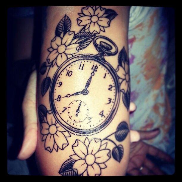 Pocket watch tattoo | Tattoo | Pinterest | Kid, The ...