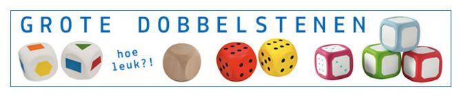 Wij verkopen allerlei dobbelstenen - http://credu.nl/product-tag/dobbelsteen/