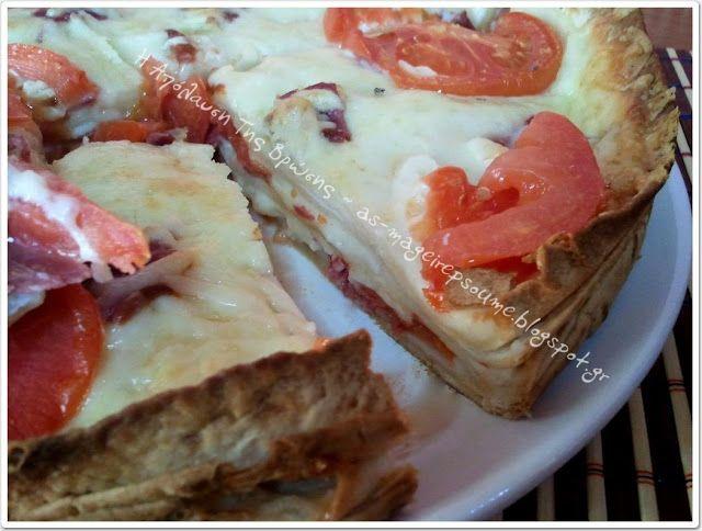 Η απόλαυση της βρώσης ~ Ας μαγειρέψουμε: Τορτίγιες με παστουρμά