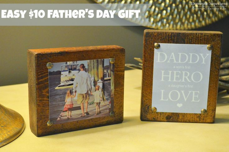 Easy $10 Father's Day Gift!
