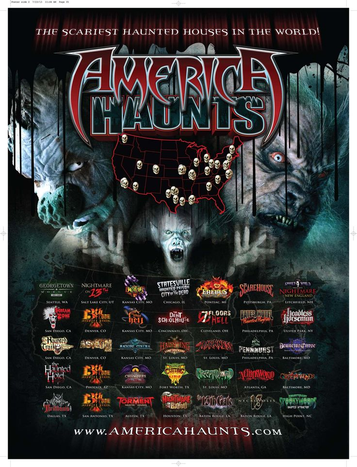 America Haunts... These are The Scariest Haunted Houses in the World!