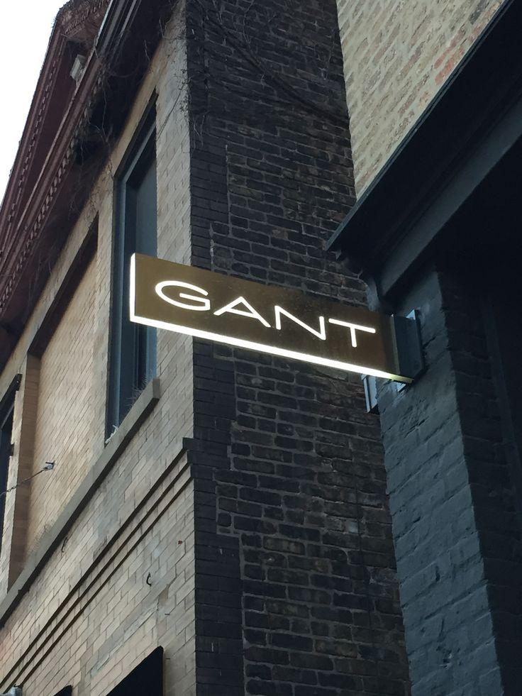 GANT blade sign - Wicker Park, Chicago