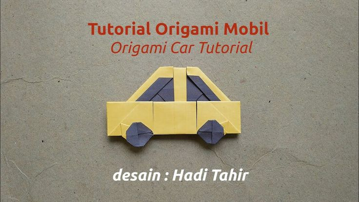 How to Make a Simple and Easy Origami Car with Colour Change