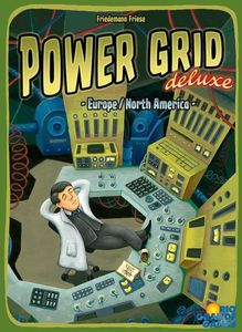 Power Grid deluxe: Europe/North America | Board Game | BoardGameGeek