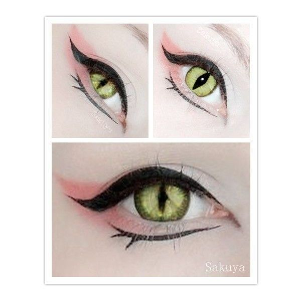 Eye Dragon Makeup Snake Eye Art images on Photobucket ❤ liked on Polyvore featuring beauty products, makeup, eye makeup and eyes