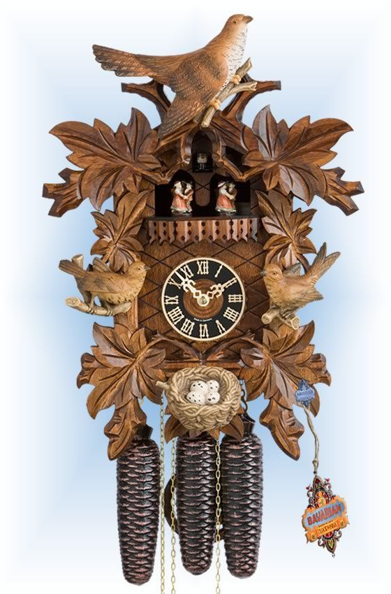 best cuckoo clocks traditional hand carved images on  traditional 8 day nesting birds 17 cuckoo clock by hones