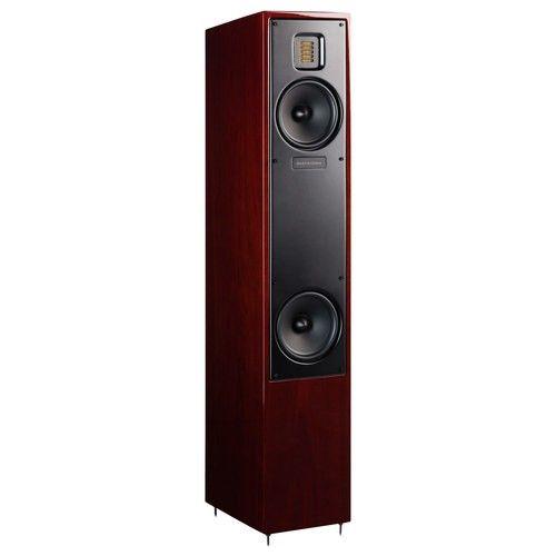 "MartinLogan - Motion 20 5-1/2"" Floor Speaker (Each) - Gloss Black Cherrywood - Larger Front"