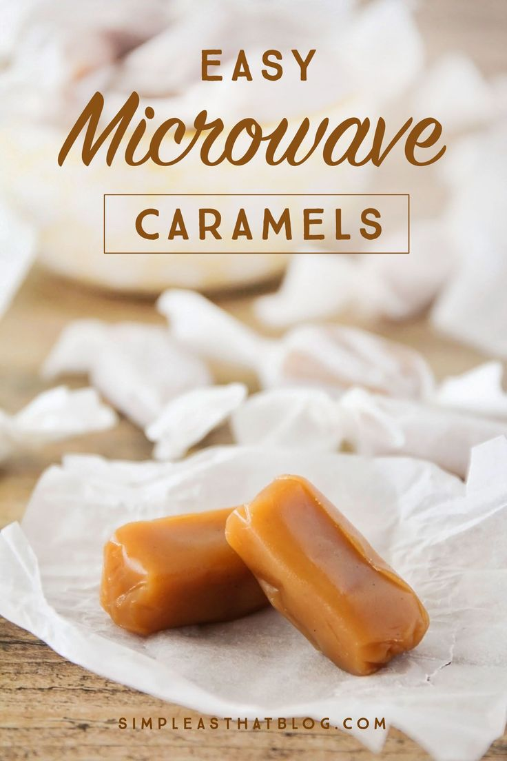 This is the easiest homemade candy you'll ever make! They only take a few minutes in the microwave and they turn out perfectly delicious every time!