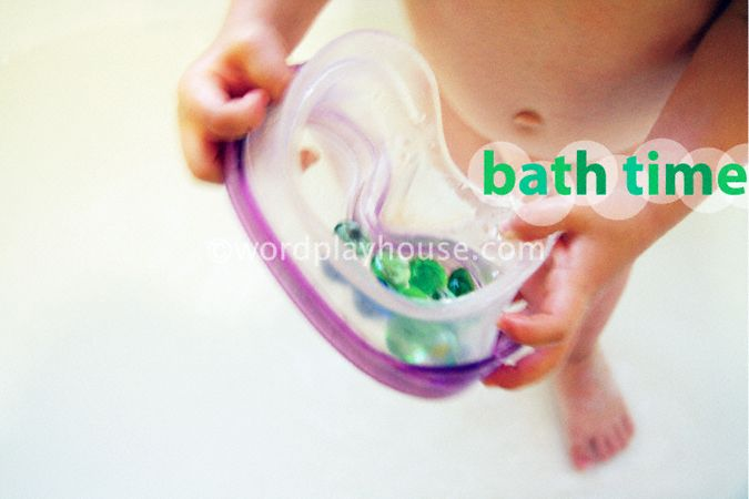 bath time water play ideas