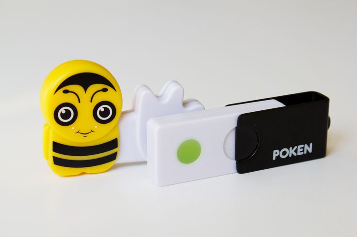Bee and a Poken Spark