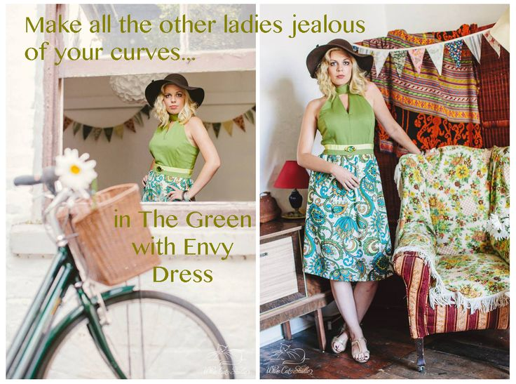 'The Green with Envy Dress' by Alice Halliday €220 SIZE 14