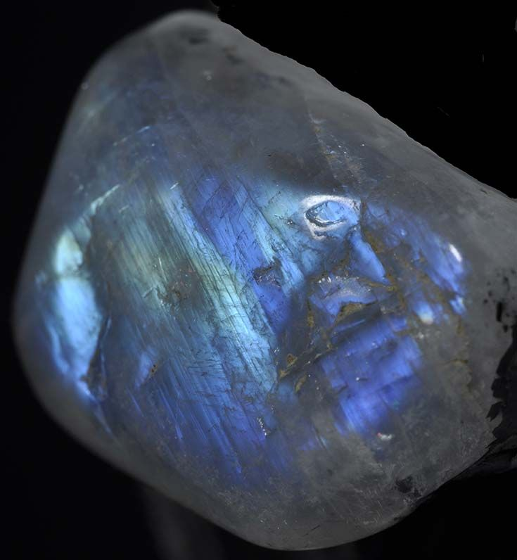 Moonstone from India - http://www.gemcoach.com/moonstone-guide/