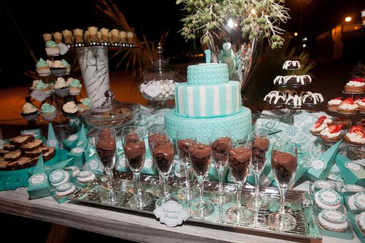 Mesa de dulces banquetes acapulco boda evento eventos for Mesa de postres para boda