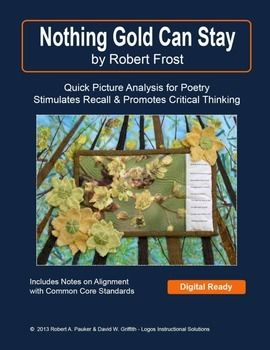 "an assessment of nothing gold can stay by robert frost Above is an image that has the poem ""nothing gold can stay"" written out   wordpresscom/2012/04/29/analysis-of-nothing-gold-can-stay."