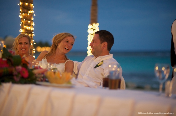 At DestinationVows we love candid moments like this one shared by Tammy & Chris! Destination wedding by DV specialist Tanya Idzan of Farlie Travel in St. Albert, AB.