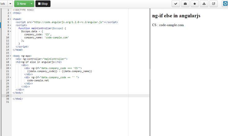 ASP.Net C# WCF SQL KnockoutJs AngularJS Kendo ui...: ng-if