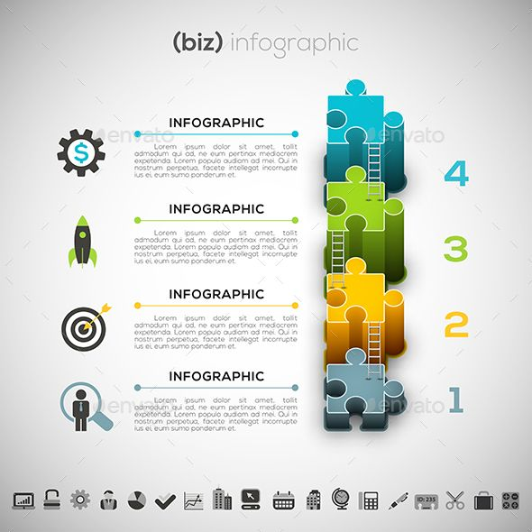 Business Infographic Template PSD, Vector EPS, AI Illustrator