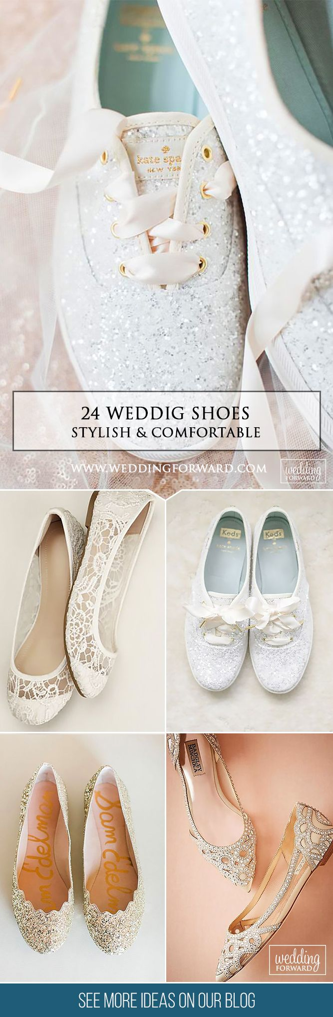 24 Stylish And Comfortable Wedding Shoes❤ If you are looking for the comfortable and gorgeous shoes, you will find many attractive variants here. Check out our list of comfortable wedding shoes. See more: http://www.weddingforward.com/comfortable-wedding-shoes / #weddings #shoes