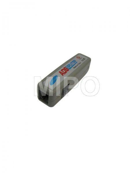 ADSL Splitter Biasa  ADSL Spliter adalah alat untuk memisahkan kabel telpon menjadi dua.   Harga rp45.000 Info detail di : www.tokomipo.com  #komputer #networking #network #splitter #ADSL #tokokomputer #telephone