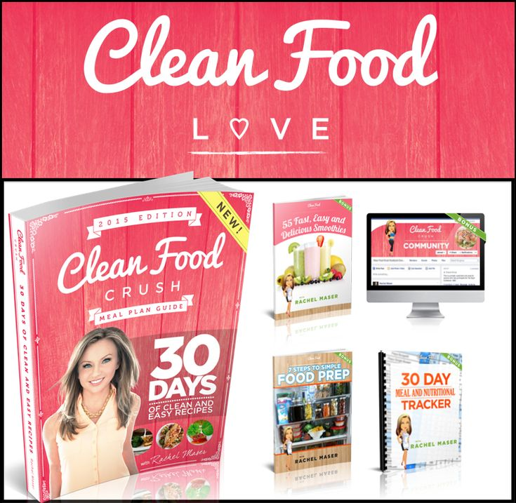 clean eating recipe book pdf