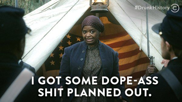 Drunk History: Harriet Tubman Leads an Army of Bad-Ass Bitches