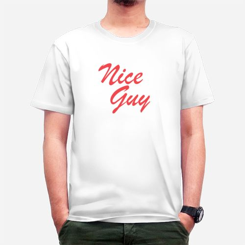 Nice Guy dari Tees.co.id oleh Insulin