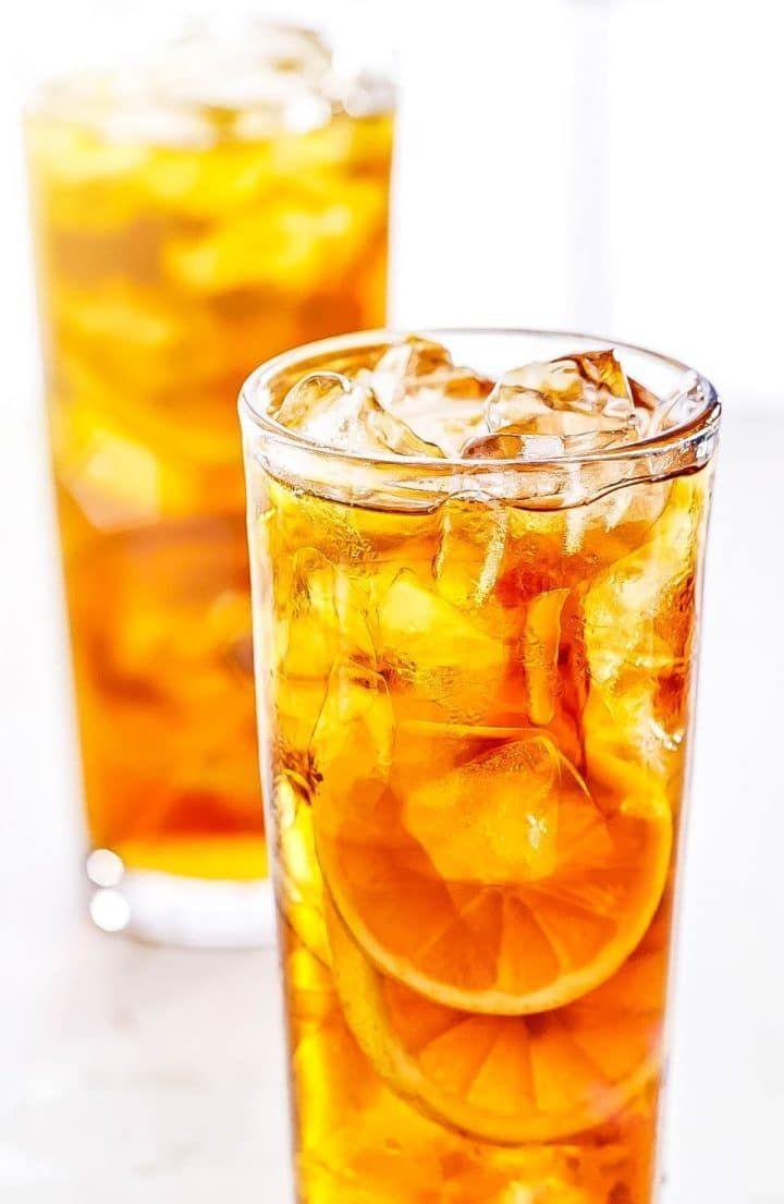 Sweet Lemon Iced Tea Recipe Homemade Iced Tea Lemon Iced Tea