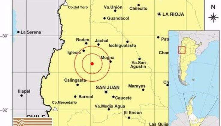Se registraron dos fuertes sismos en San Juan - El Tribuno.com.ar