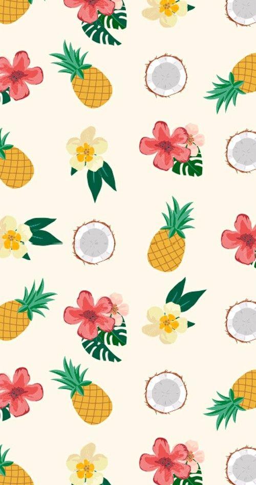 Pineapple Fruit Wallpaper