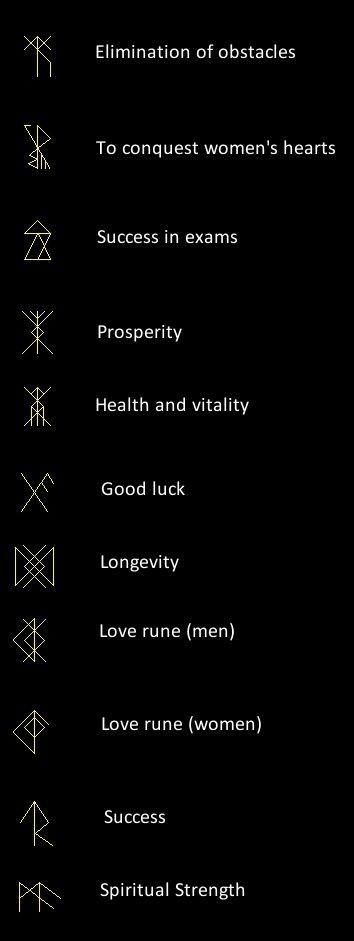 geometric tattoo inspiration / runes?