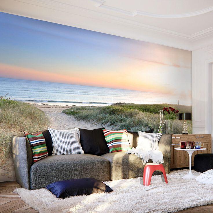 VLIES-FOTOTAPETE-Strand-Meer-TAPETE-TAPETEN-Schlafzimmer-WANDBILD-XXL-FOA0008