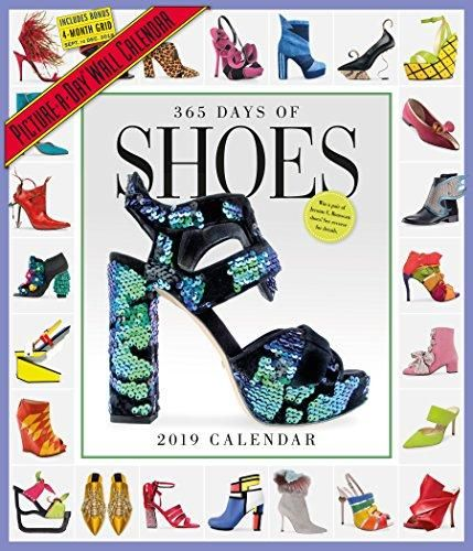 ee0dea40a93 365 Days of Shoes Picture-A-Day Wall Calendar 2019 in 2019