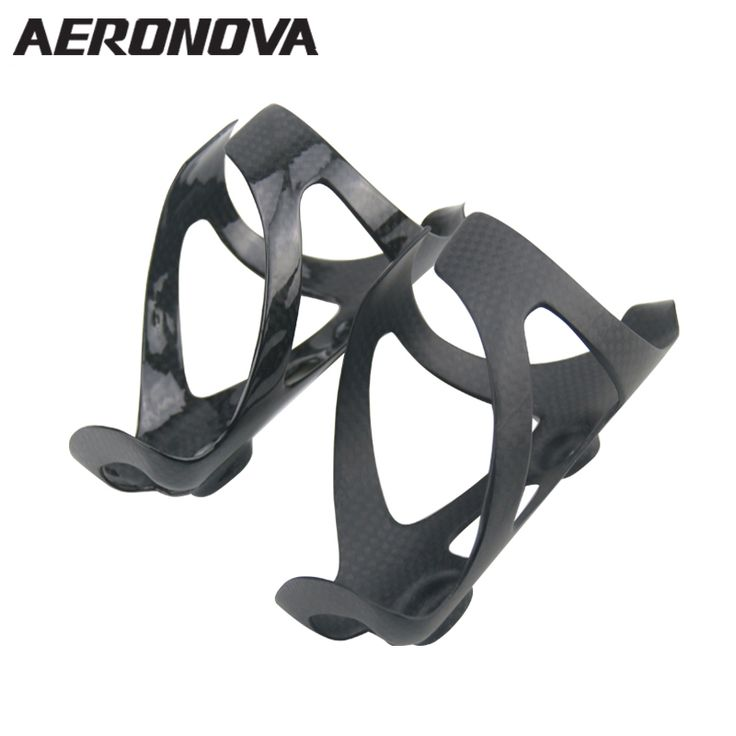Road Bicycle Bottle Holder Carbon Bottle Cage 3K AERONOVA Carbon Fiber MTB Mountain Bike Water Bottle Cages Super Light //Price: $17.95 & FREE Shipping //     #hashtag2