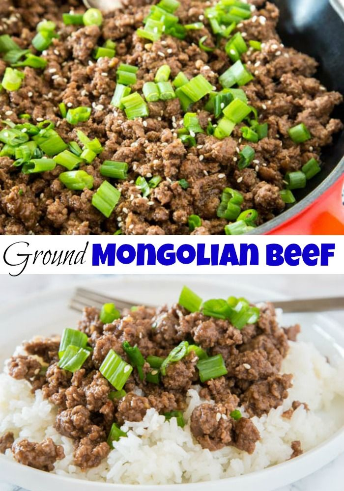 Ground Mongolian Beef Recipe A Budget Friendly Twist On Classic Mongolian Beef All The Gr Ground Beef Recipes Healthy Beef Recipes Easy Healthy Beef Recipes