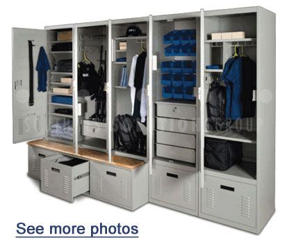 Personal Storage Lockers and Law Enforcement Gear Lockers
