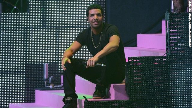 """Rapper Drake is the son of a black father and white Jewish mother. """"I'm all mixed up and people embrace that,"""" he told the Village Voice."""