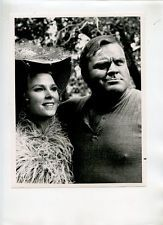 "DAN BLOCKER MARIETTE HARTLEY ""BONANZA"" ORIGINAL 1971 NBC TV PORTRAIT STILL"