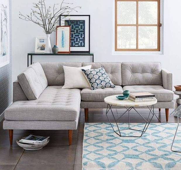 West elm living room pinterest decoraci n hogar y sal n for Decoracion casas 1900