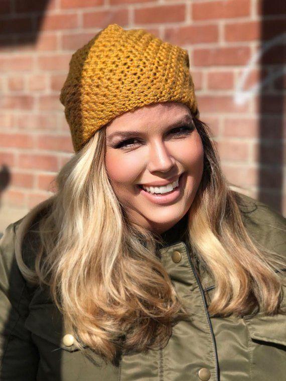 a53a9c075a0 Crochet Slouchy Hat PATTERN Voyager Slouchy Crochet Hat