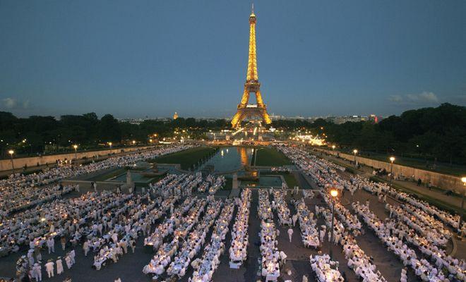 全身白に身を包んだ大人たちが集う、世界最大のシークレット・パーティー「ディネ・アン・ブラン」が日本初上陸!