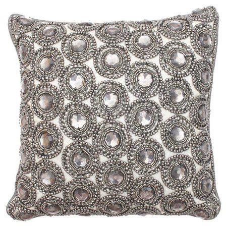 Marilyn Pillow in Silver