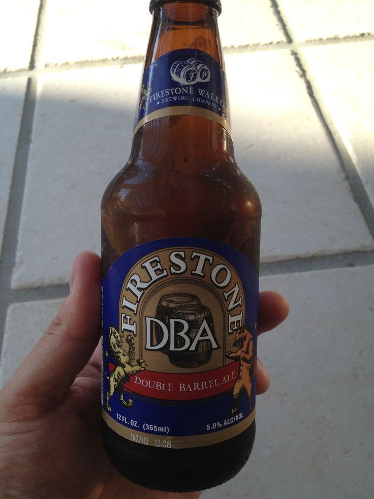 Firestone double barrel ale good