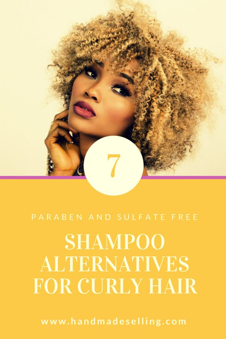 These shampoo alternatives for curly hair make the job of maintaining them easy. These alternatives do not have sulfates and parabens.