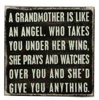 This was defiantly my Grandma... I miss you and love you so much, words can't even describe, not a day goes by without me thinking about you and how wonderful you were! But I know you're above watching us all! <3 Love You! <3