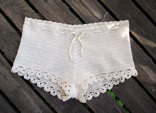 17 Best Images About Croche On Pinterest Crochet Shorts Skirts