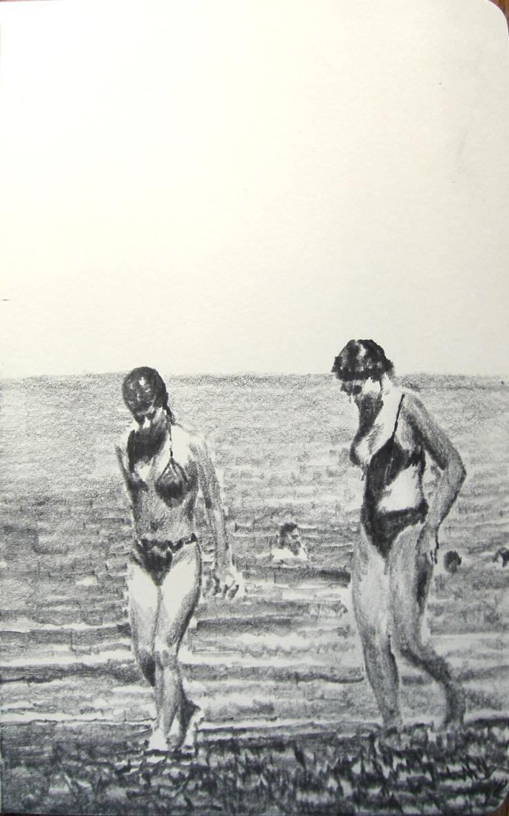 Moleskine #004 graphite pencil drawing