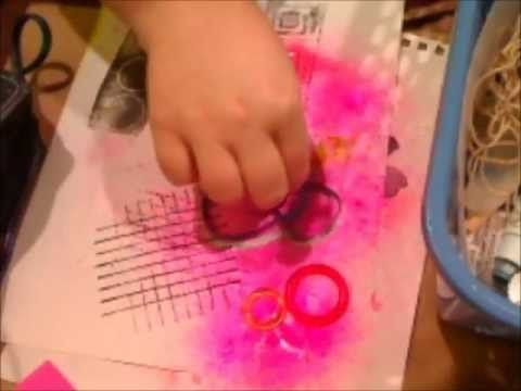 Awesome video!  All beginners should watch this!.. Things you have around the house to use in Mixed Media.