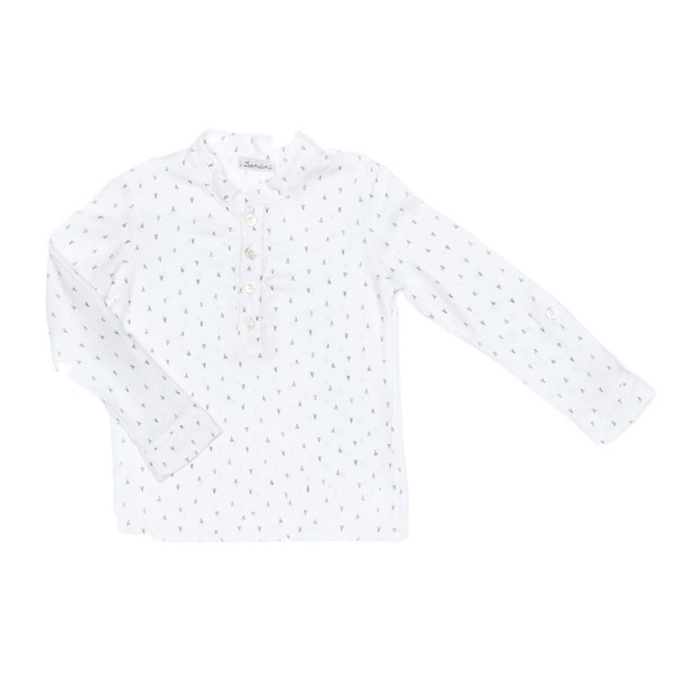 boys long sleeve white shirt