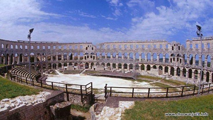 Zabytkowa budowla w Puli Więcej informacji o Chorwacji pod adresem http://www.chorwacja24.info/zdjecie/zabytkowa-budowla-w-puli